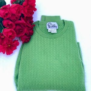 Vintage Lily Pulitzer Green Cashmere Sweater